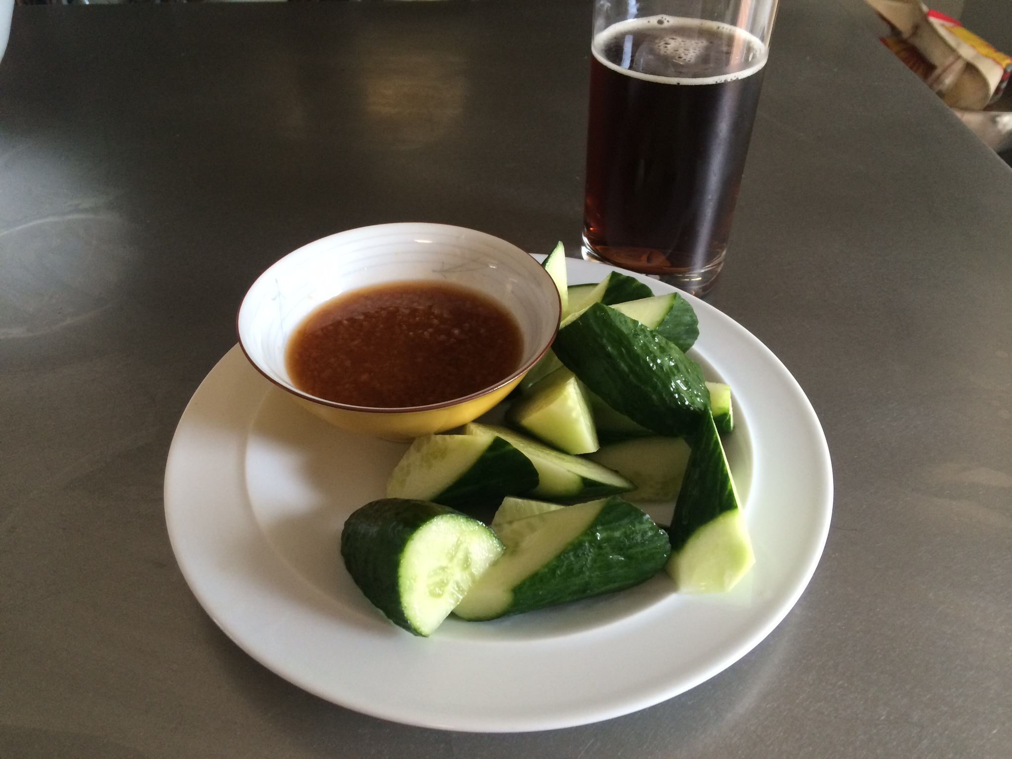 Shoyu Koji with Cucumbers