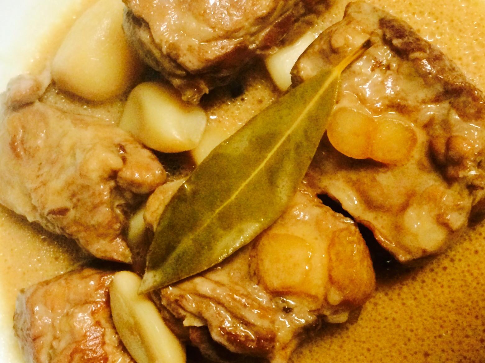 Pork Adobo with Coconut Milk